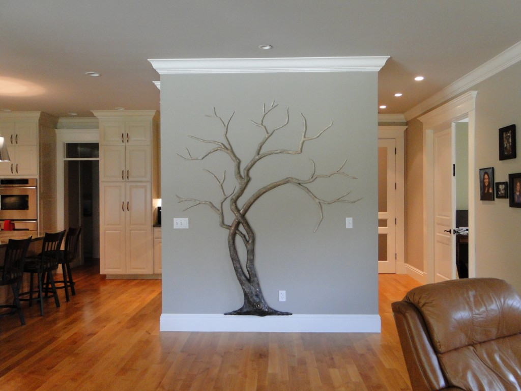 001studiosandi recycled paper tree in its home
