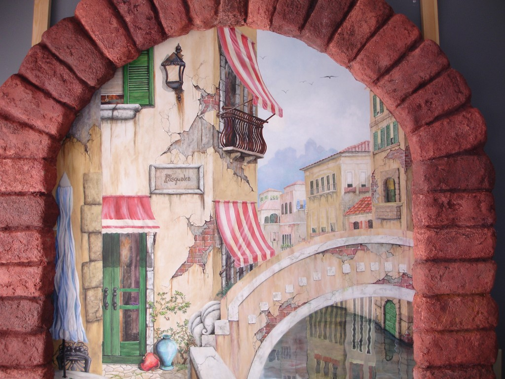 Sandi Billingsley doorway to Venice 002