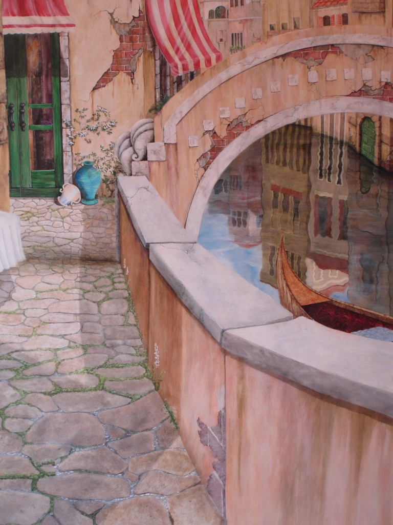 Sandi Billingsley doorway to Venice 007