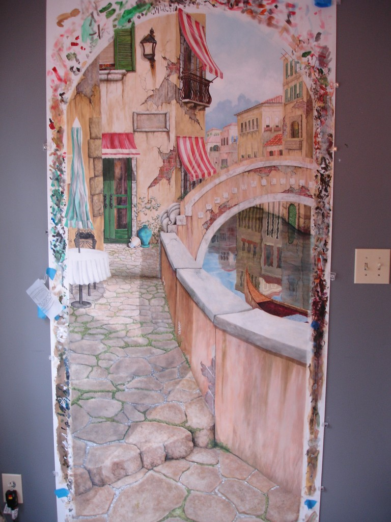 Sandi Billingsley doorway to Venice 009