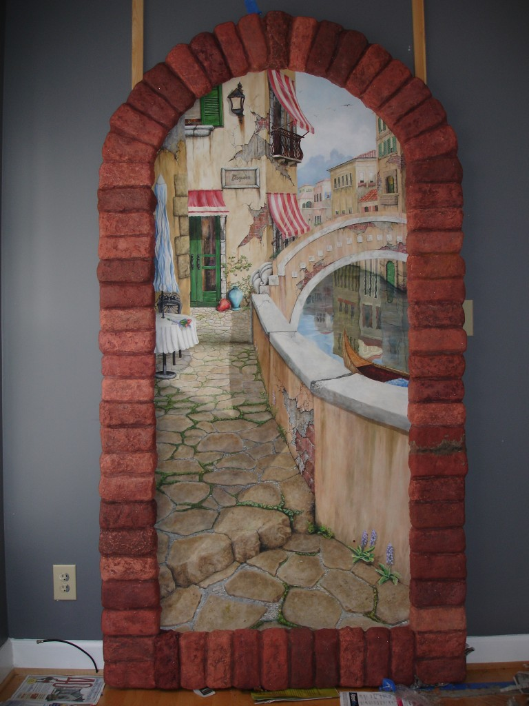 Sandi Billingsley doorway to Venice 010