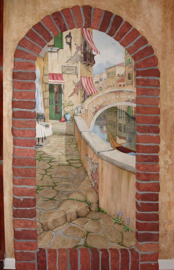 Sandi Billingsley doorway to Venice 011