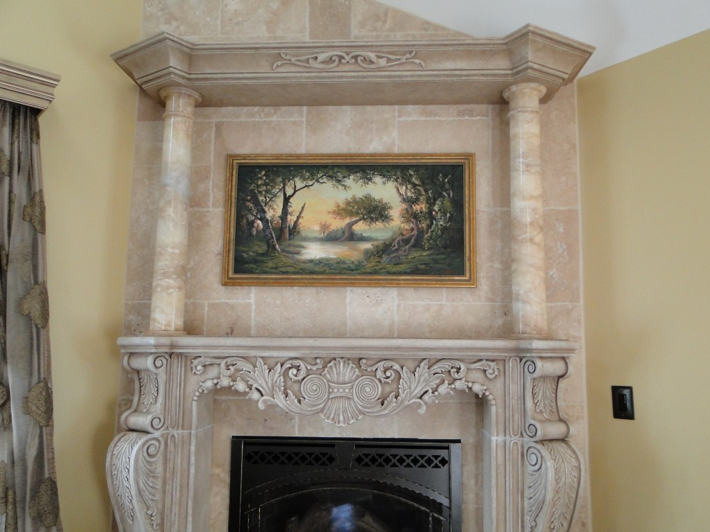 sandi billingsley fireplace mantel update 002
