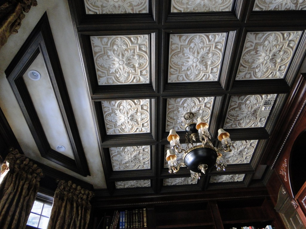 coffered ceiling by studiosandi