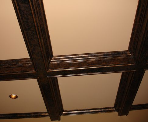 Charming Back To Copper Fireplace U0026 Copper Crawford Ceiling