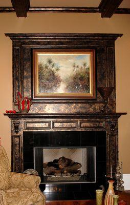 Copper Fireplace U0026 Copper Crawford Ceiling